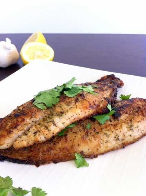 Catfish Fillet | Pan Seared Lemon Herb Catfish Fillet The Wheatless Kitchen