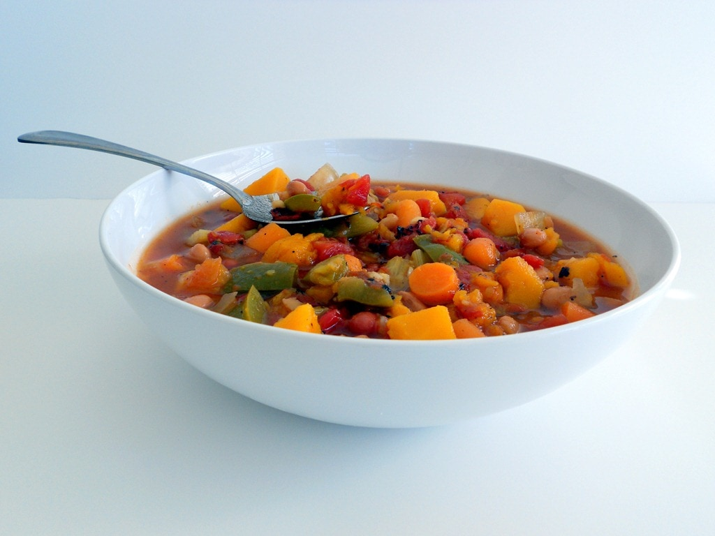 Vegetarian Butternut Chili