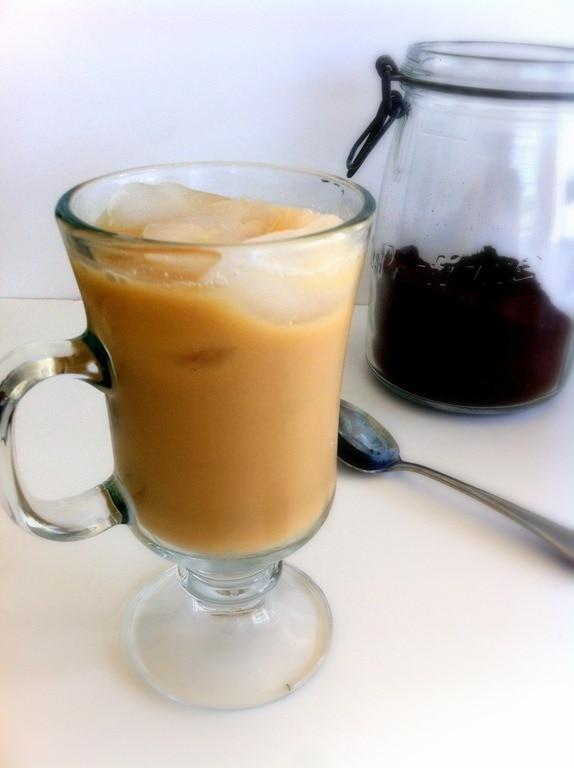 Dairy-Free Iced Vanilla Latte