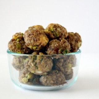 Quinoa Sausage Balls