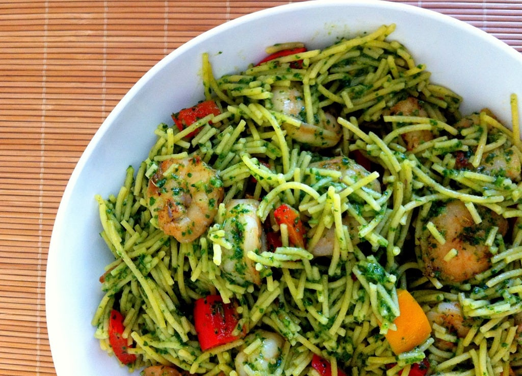 pasta with kale pesto shrimp this kale pesto is a little pesto shrimp ...