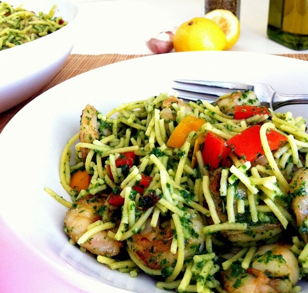 pasta which makes it the perfect light summer pasta dish