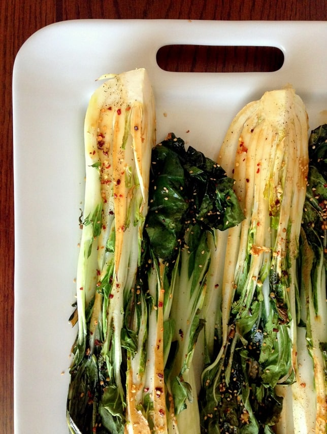 Spicy Bok Choy | Easy Vegetarian Recipes