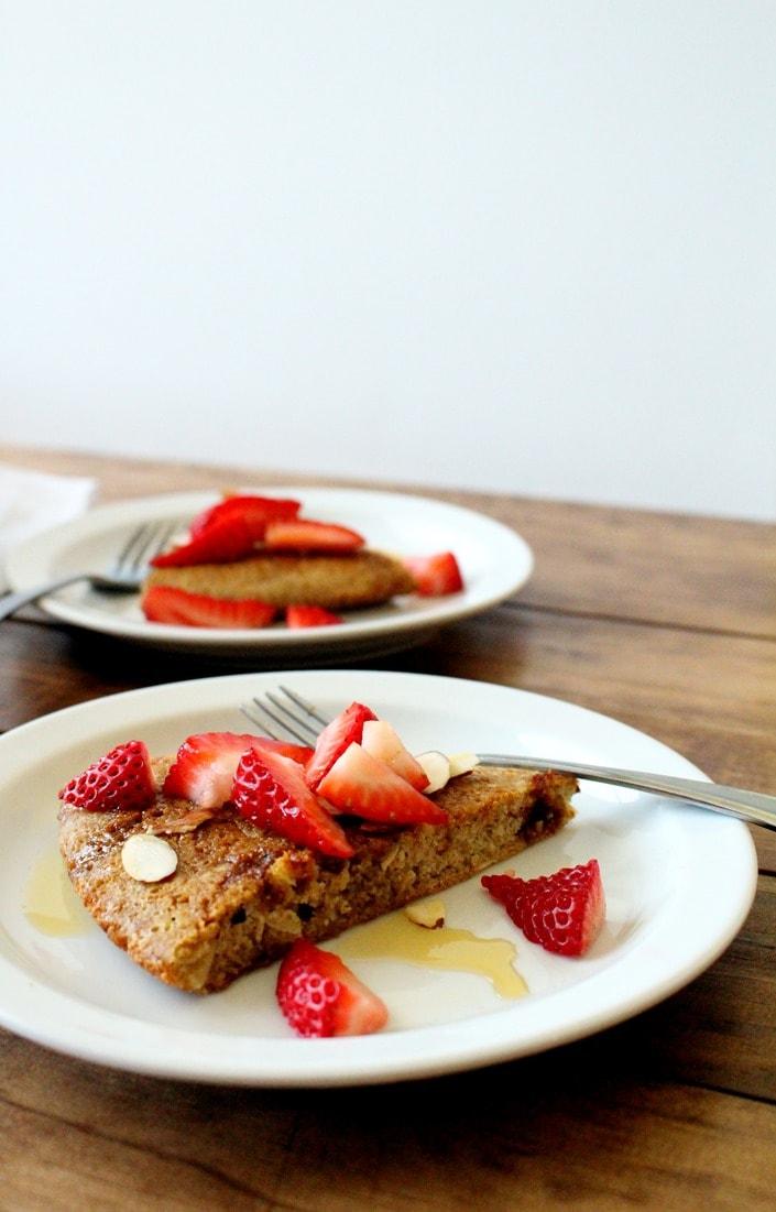Gluten-Free Almond Breakfast Cake - The Wheatless Kitchen