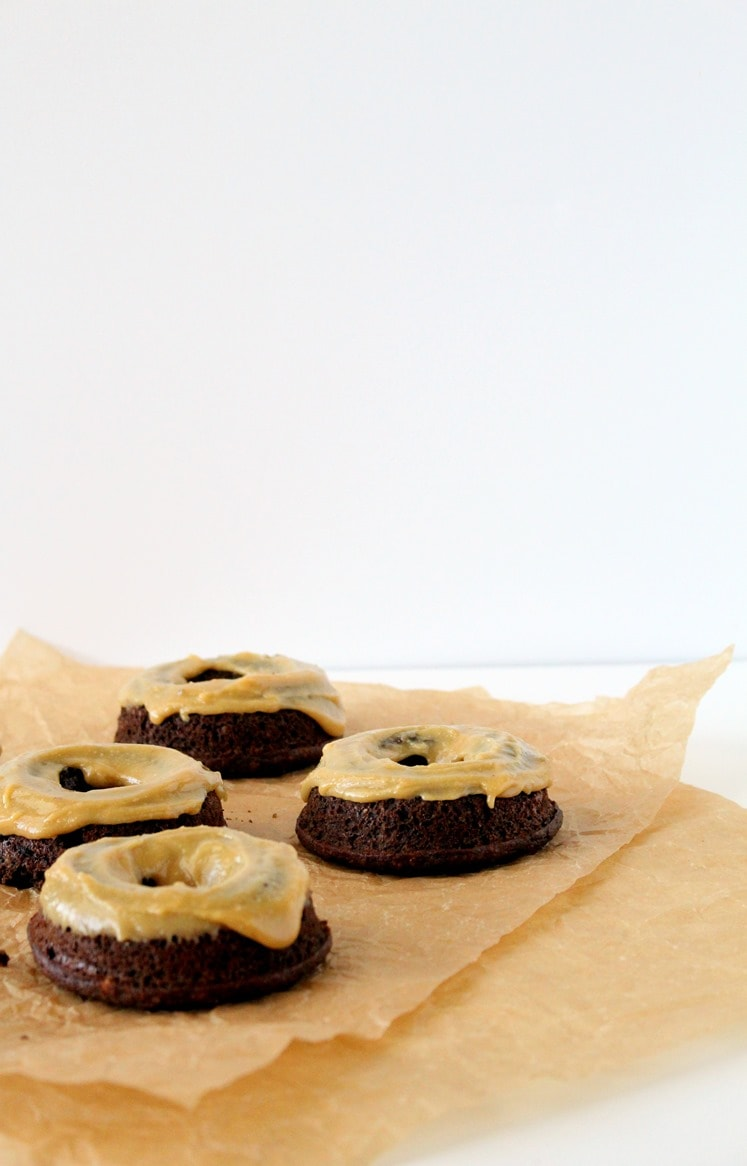 Grain-Free Chocolate Baked Donuts + Peanut Butter Maple ...