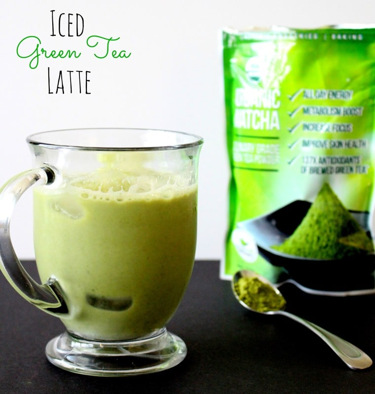 [Dairy-Free] Iced Green Tea Latte