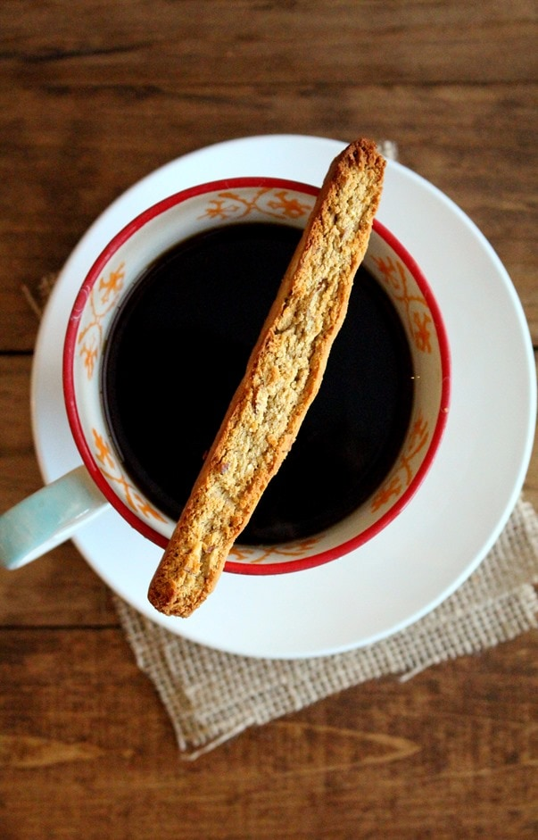 Grain-Free Toasted Coconut and Almond Biscotti