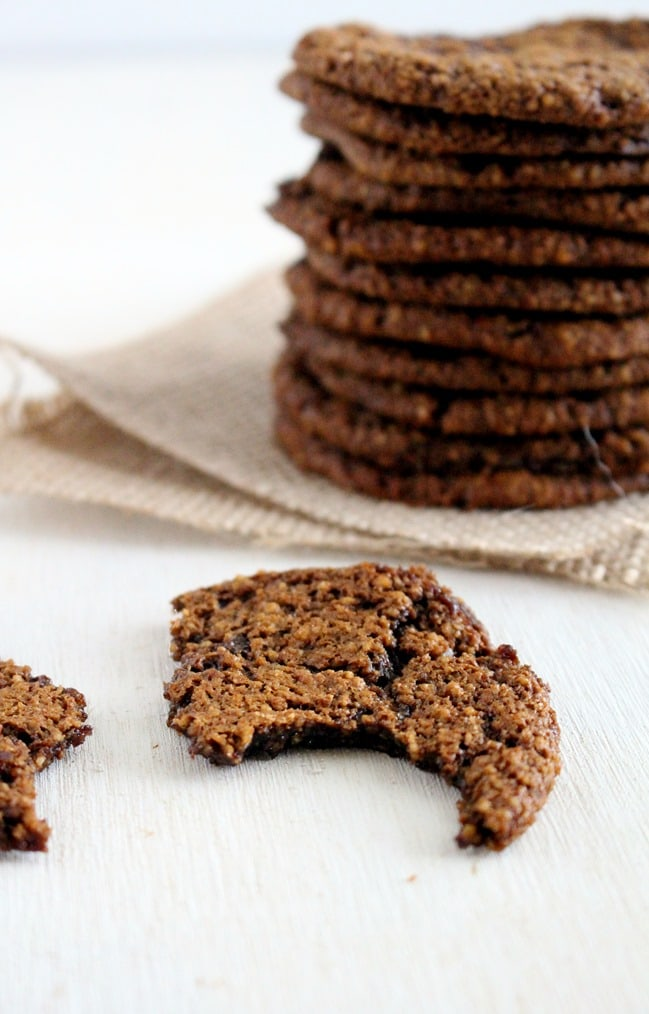 [Paleo] Chewy Gingerbread Cookies