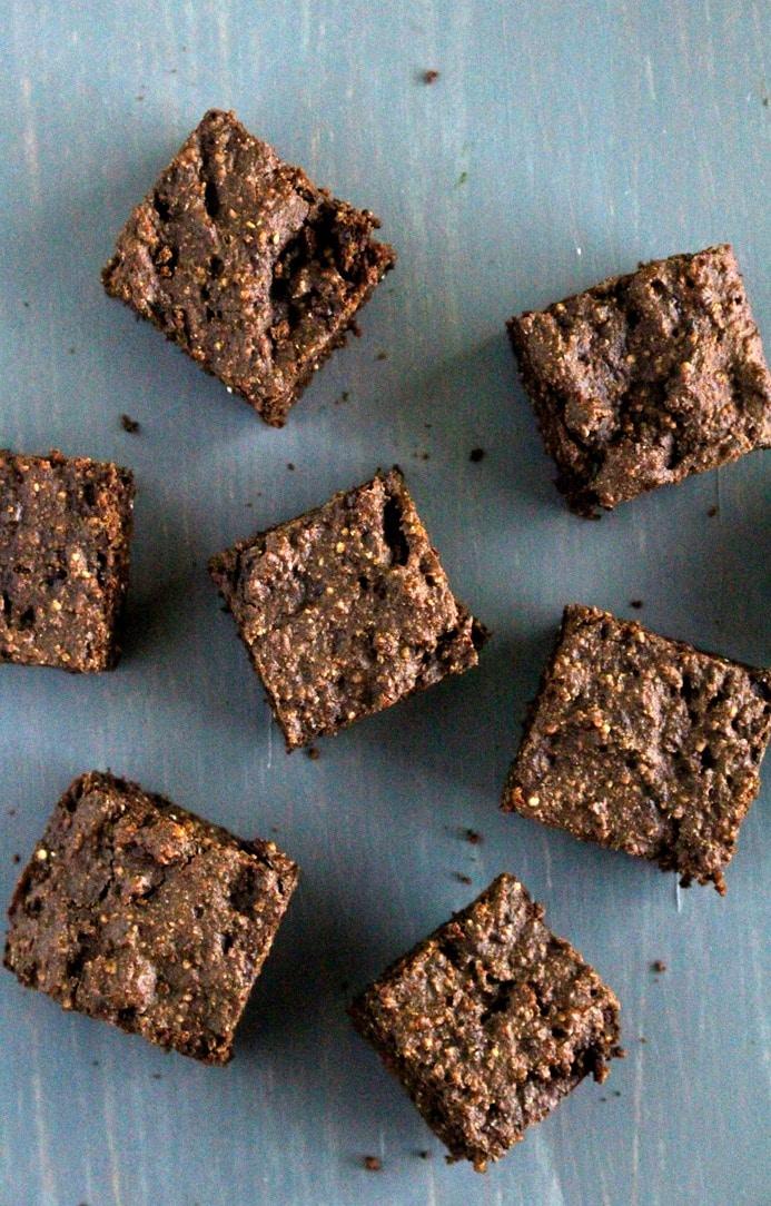 Quinoa Protein Brownies