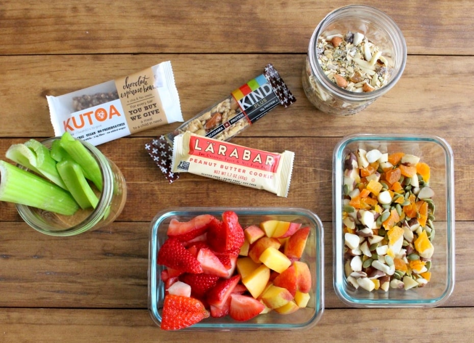 gluten free travel snacks