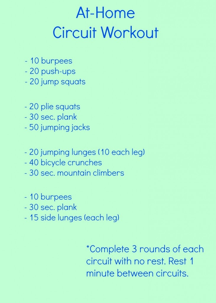 Full Body Circuit Workout At Home Html
