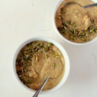 Roasted Garlic & Parsnip Soup