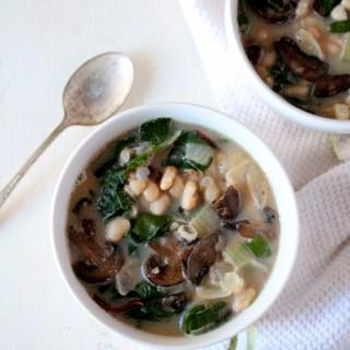 White Bean & Chard Soup