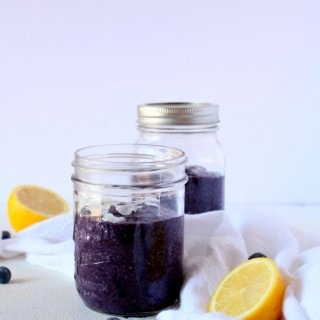 Blueberry Lemon Chia Pudding