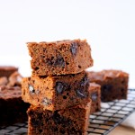 Mocha Almond Butter Brownies