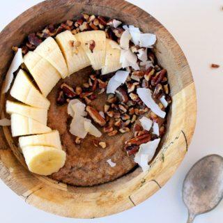 Banana Pecan Amaranth Porridge