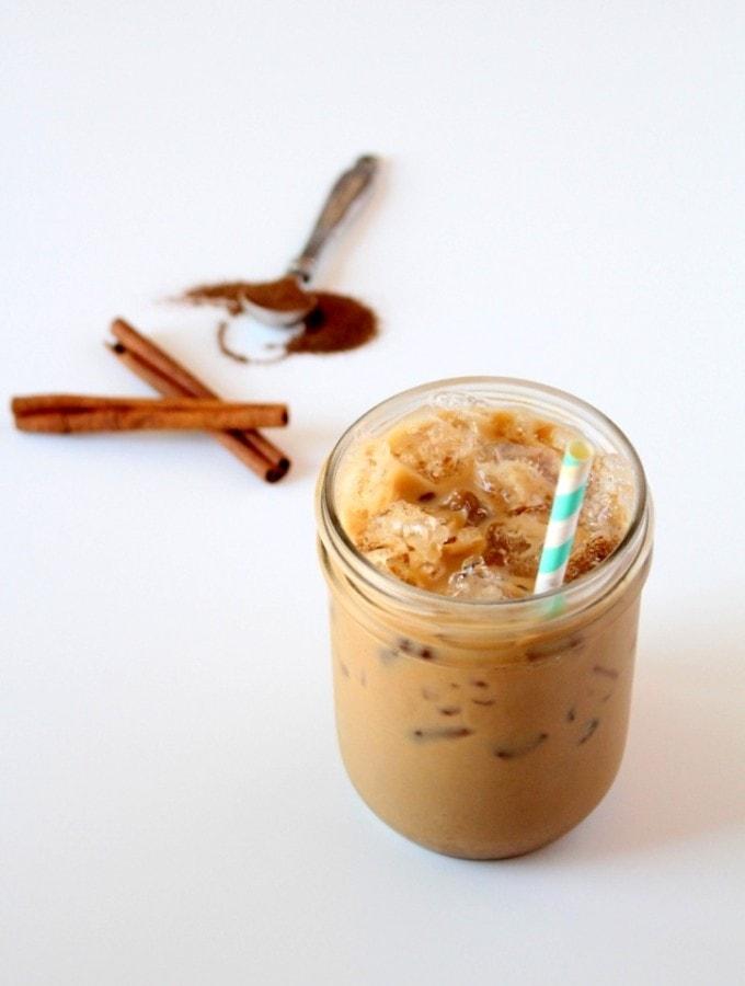 Iced Maca Chai Latte