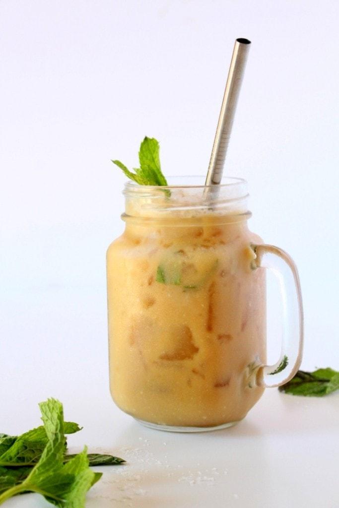 Mint Mojito Cold Brew Latte