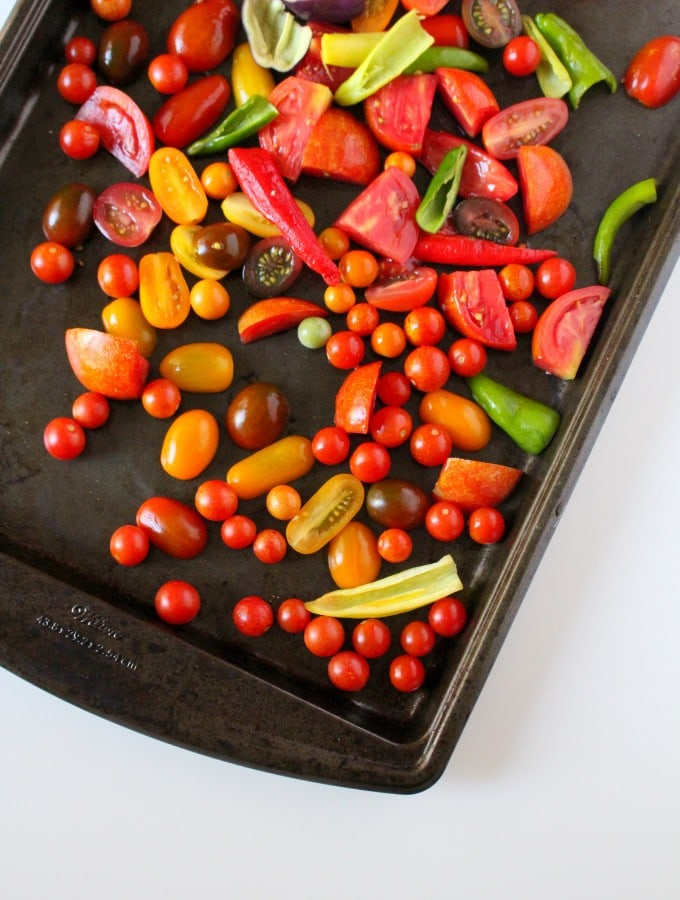 Roasted Garden Salsa