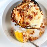 Breakfast Baked Acorn Squash