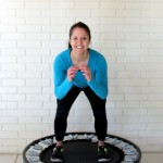 Rebounder workout lower body