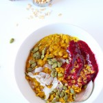 Creamy Maple Turmeric Oatmeal
