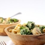 Pasta with Sausage, Broccoli & Creamy Cauliflower Sauce