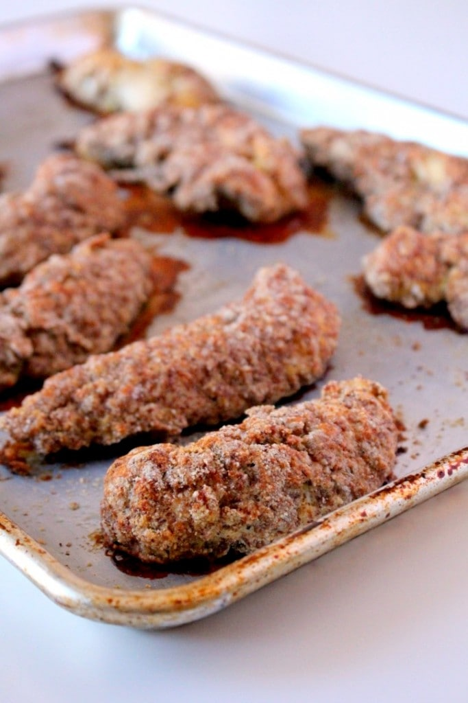 Paleo Baked Chicken Tenders
