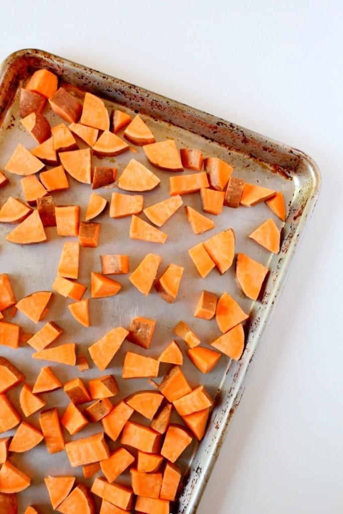 Simple Roasted Sweet Potatoes