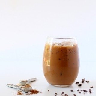 Iced Mocha Maca Latte