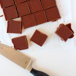 Chocolate Almond Butter Freezer Fudge