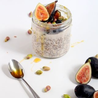 Pistachio & Fig Overnight Oats