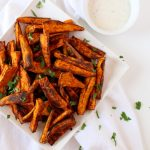 Chipotle Baked Sweet Potato Fries