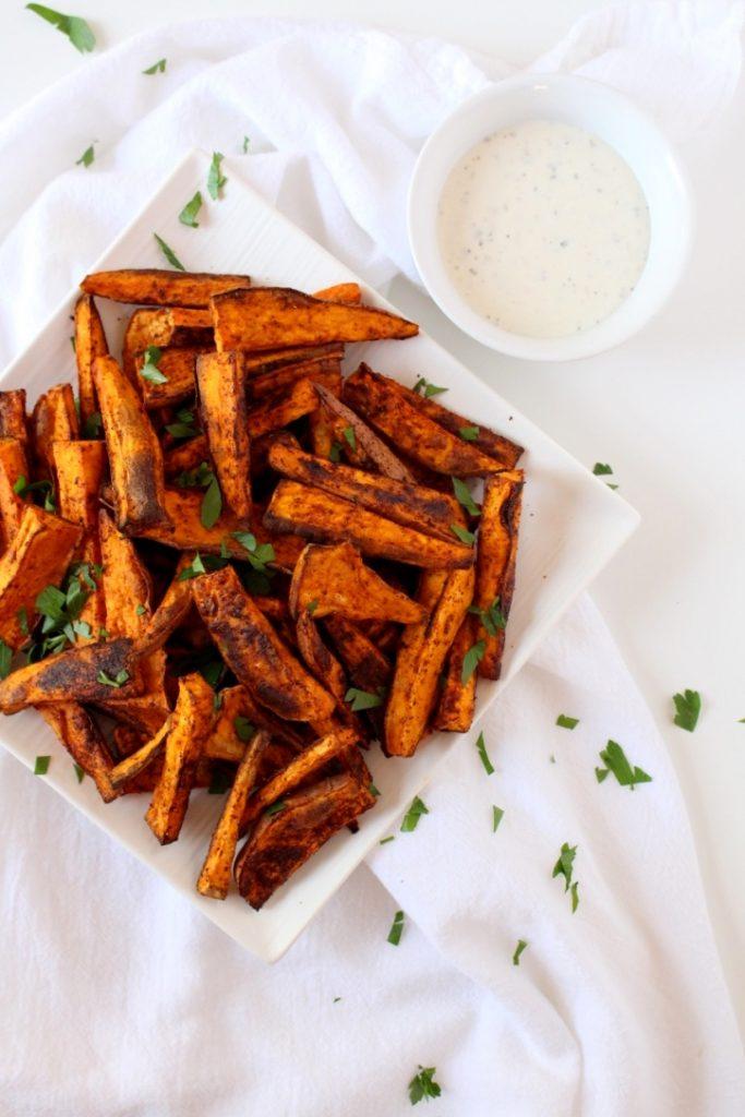 Chipotle Baked Sweet Potato Fries
