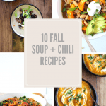 10 Fall Soup + Chilirecipes