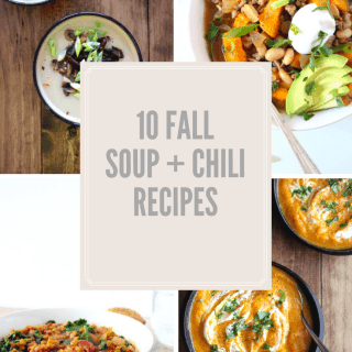 10 Fall Soup + Chili Recipes