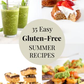 35 easy gluten-free summer recipes