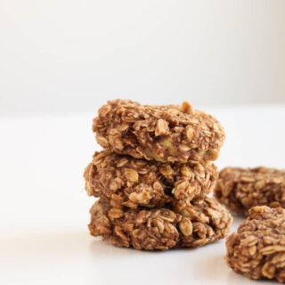 [Vegan] Banana Nutella Cookies