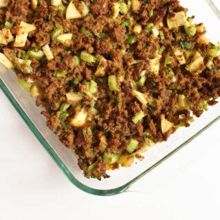 Grain-Free Thanksgiving Stuffing